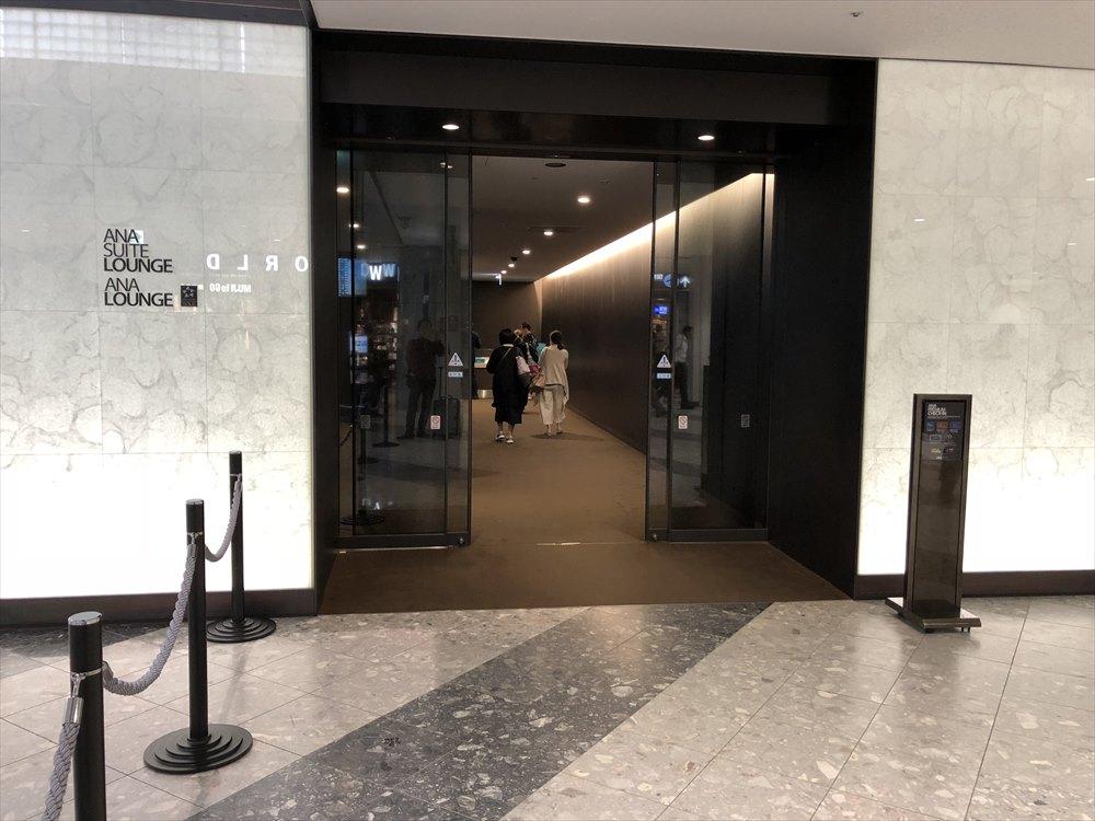 新千歳空港のANA PREMIUM CHECK-IN
