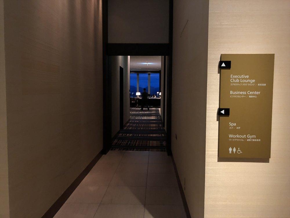 ウェスティンホテル仙台のラウンジの入口