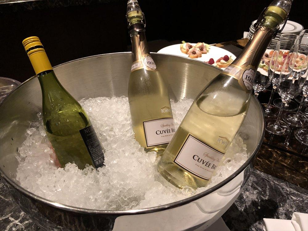 ウェスティンホテル仙台のスパークリングワイン
