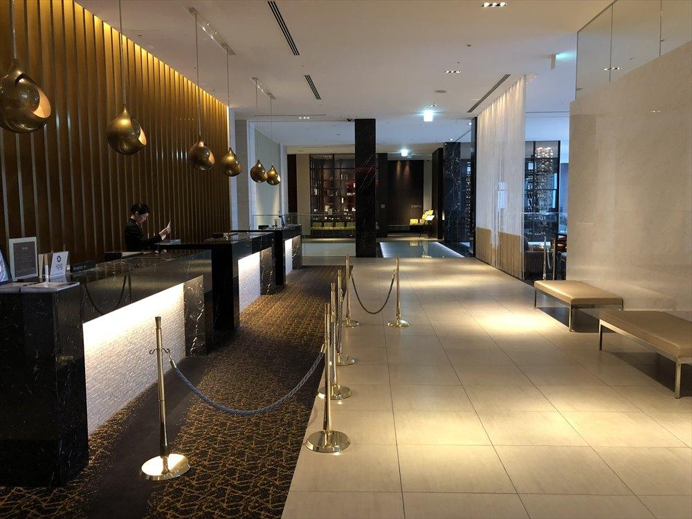 ウェスティンホテル仙台のフロント