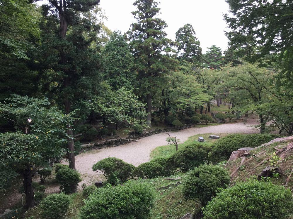 久保田城の土塁1