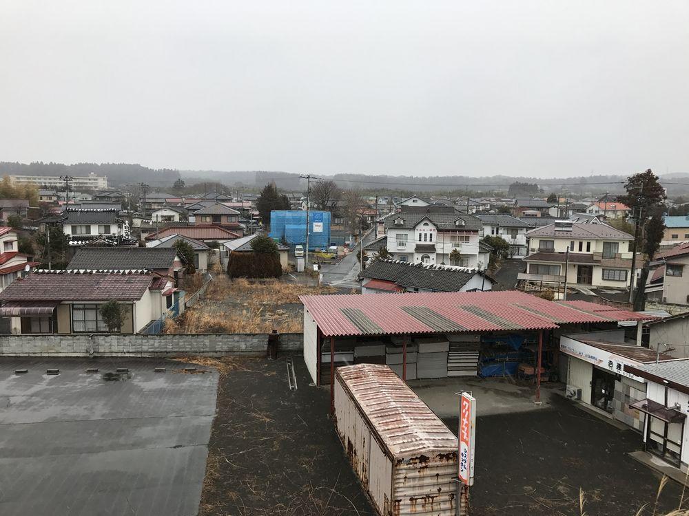 浪江町の住宅地2