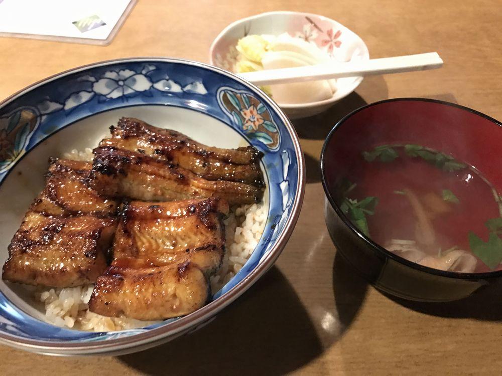 仙台の明ぼ乃のうな丼2
