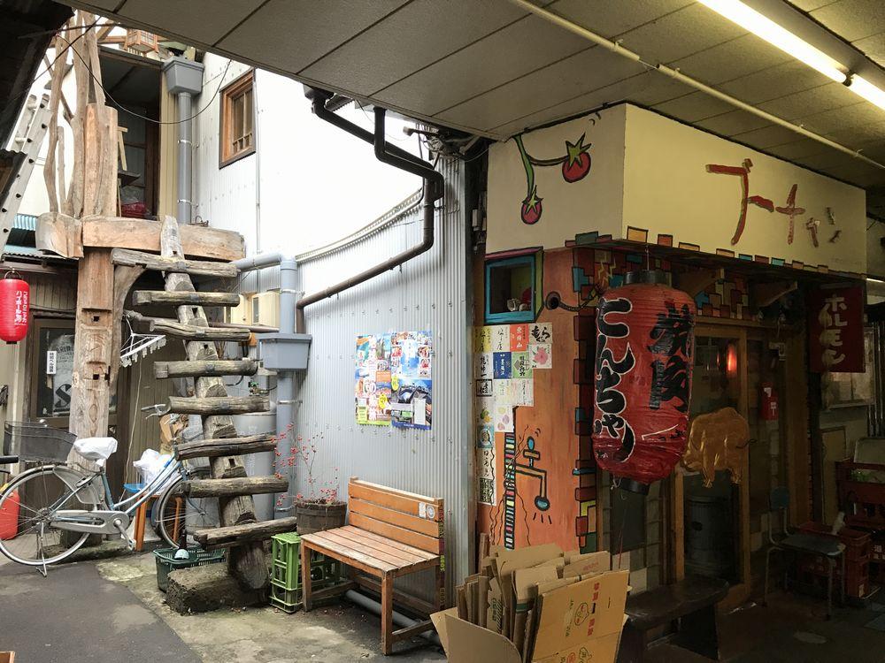仙台のいろは横丁の店