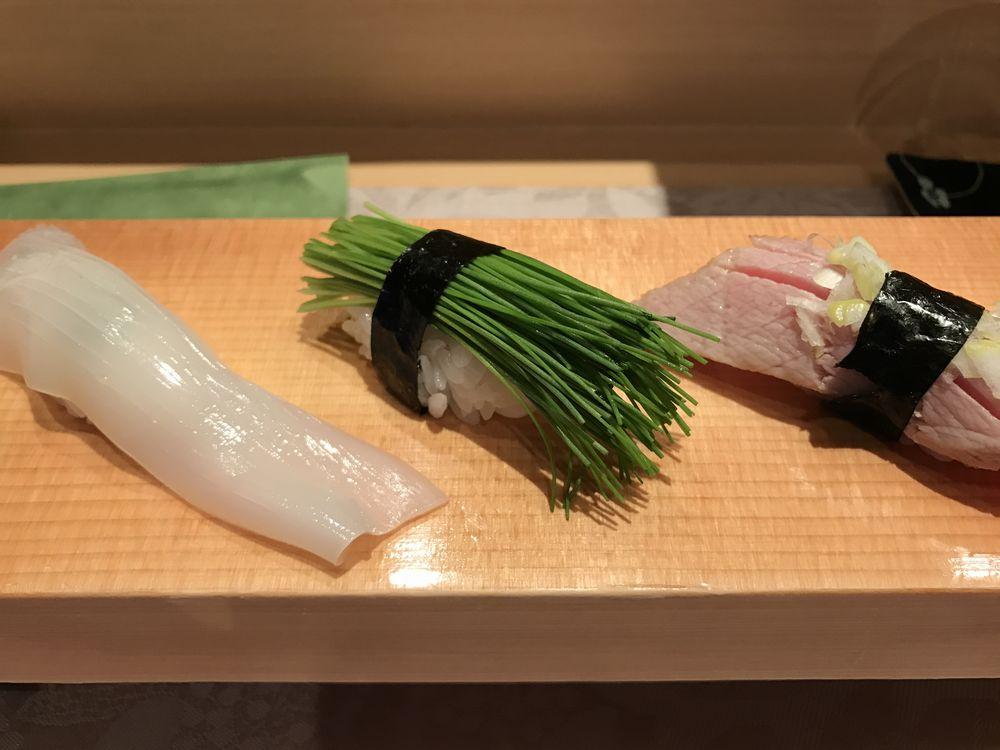仙台「鮨一郎」の握り