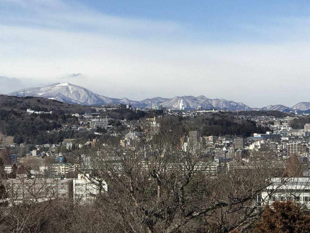 青葉城から泉ヶ岳方面2