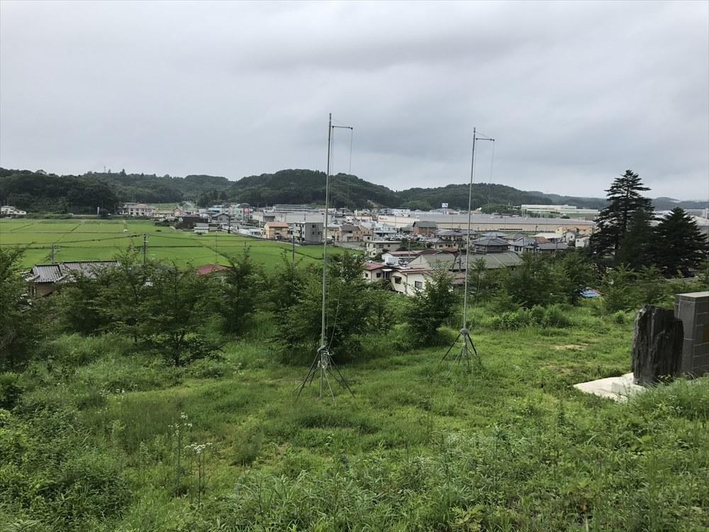 白河市の小丸山