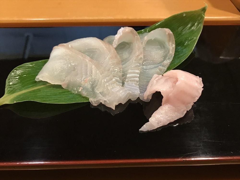 小判寿司のホシガレイ