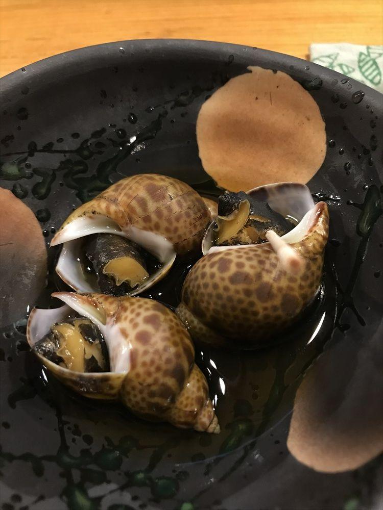 小判寿司のバイ貝