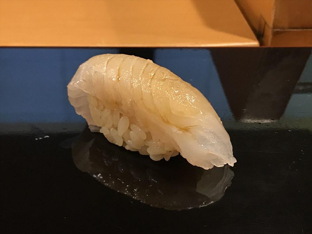 小判寿司のホシガレイの握り