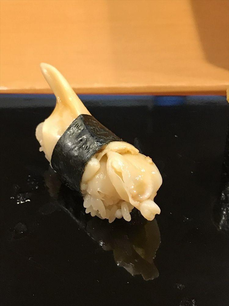 小判寿司のトリガイ