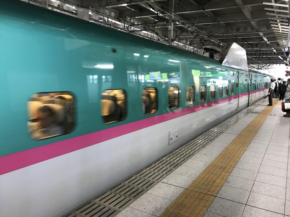 仙台駅のやまびこ52号
