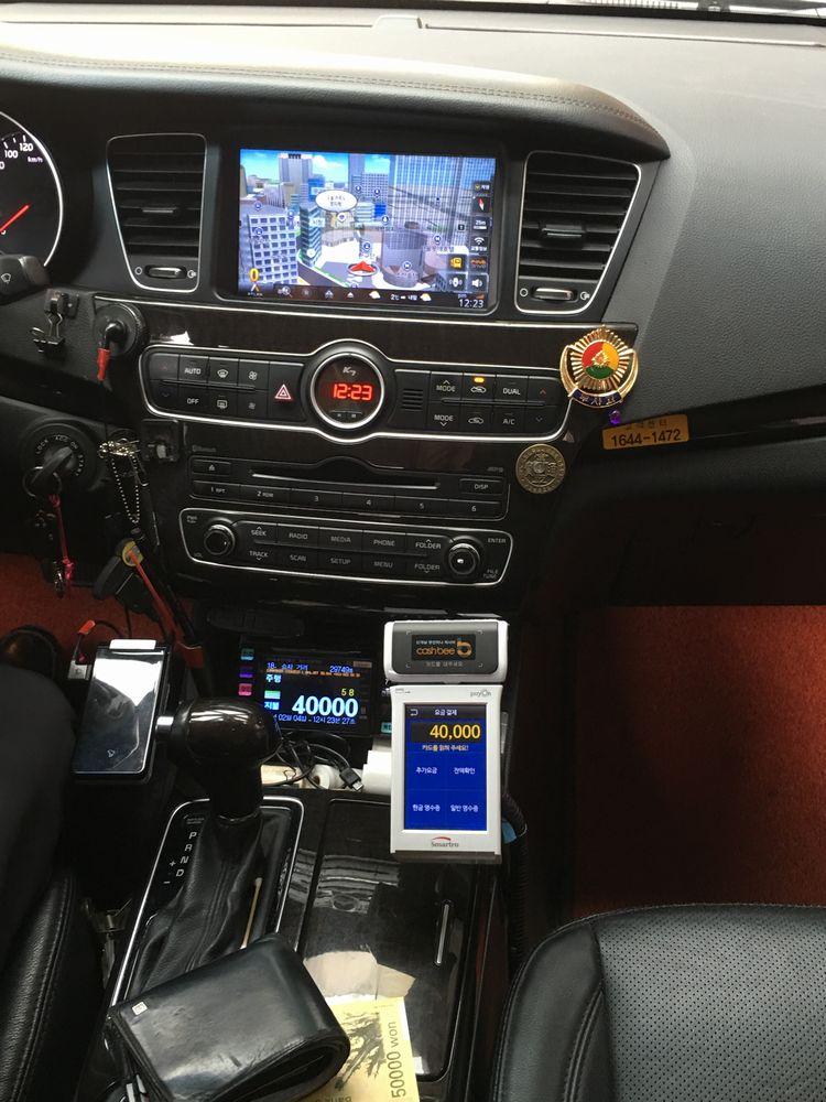 金浦国際空港からウェスティン朝鮮ソウルまでの模範タクシー料金