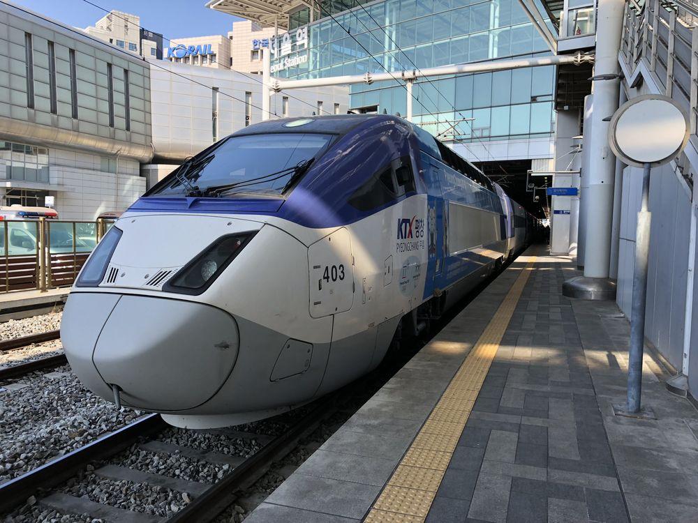 KTX京江線の車両1