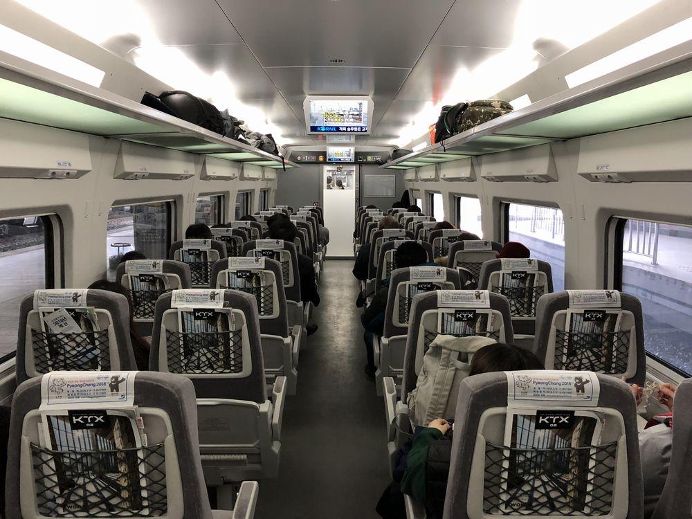 KTX京江線の一般席