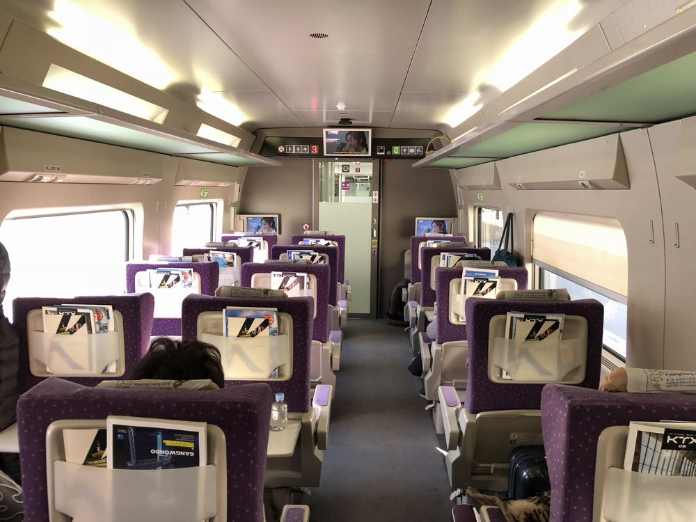 KTX京江線のファーストクラス1