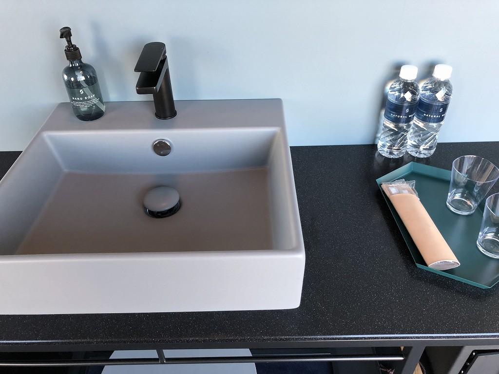sequence MIYASHITA PARKのキングルームの洗面台1