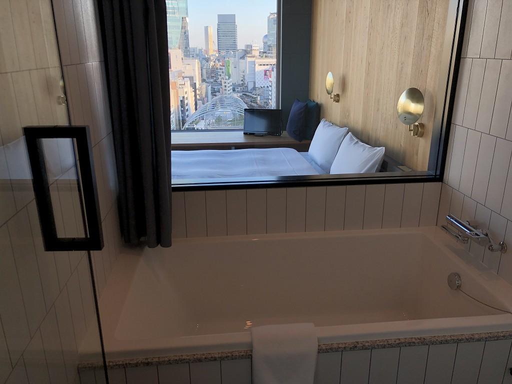 sequence MIYASHITA PARKのミヤシタパークビューのキングルームの浴槽2