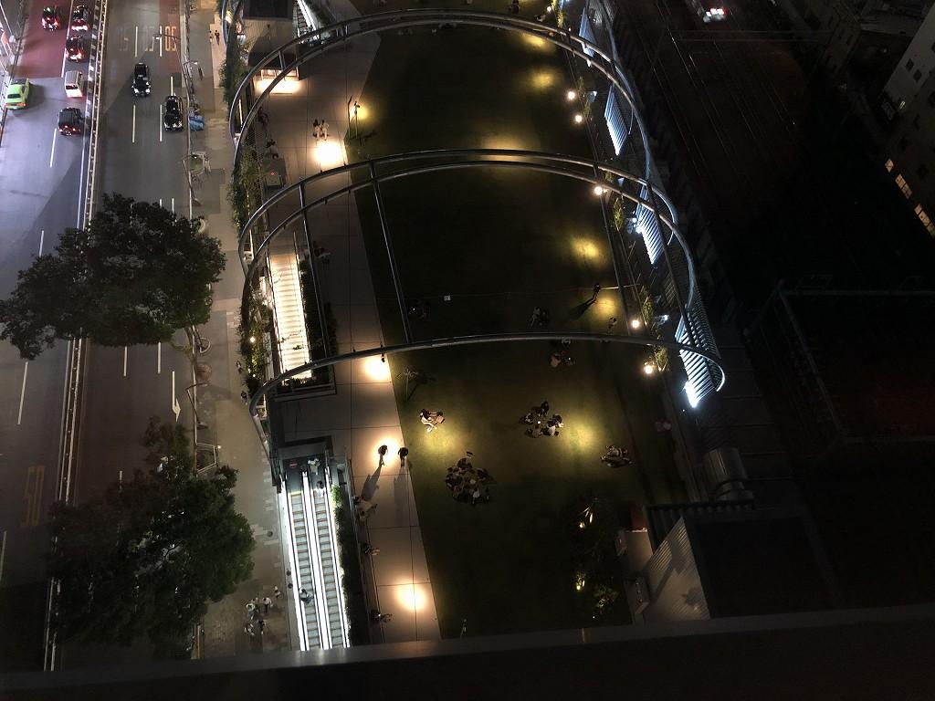 sequence MIYASHITA PARKからのミヤシタパーク側の夜景2