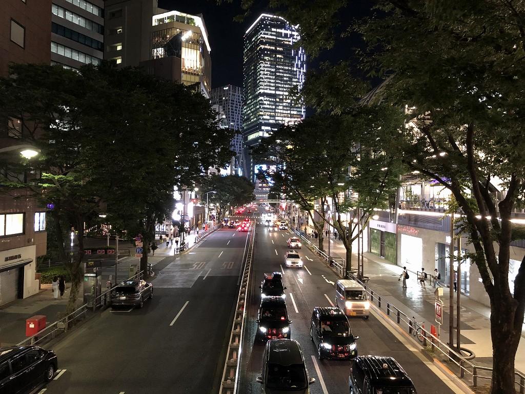 渋谷の明治通り
