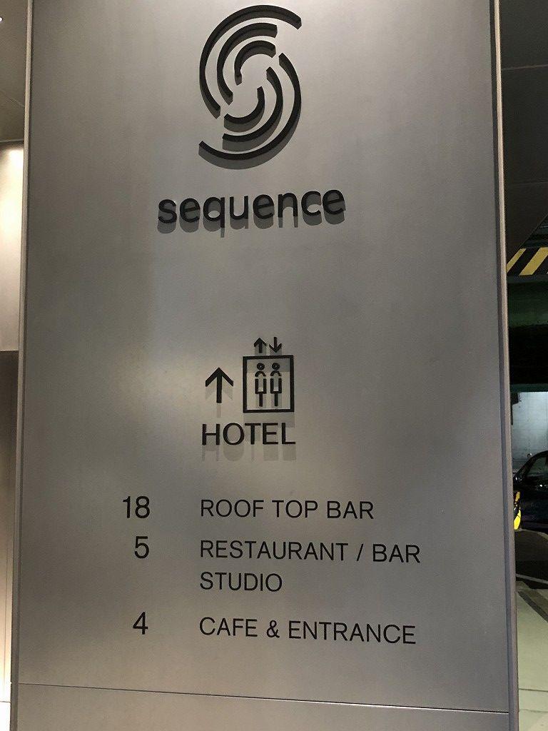 sequence MIYASHITA PARKの最上階18階の「ルーフトップバー」