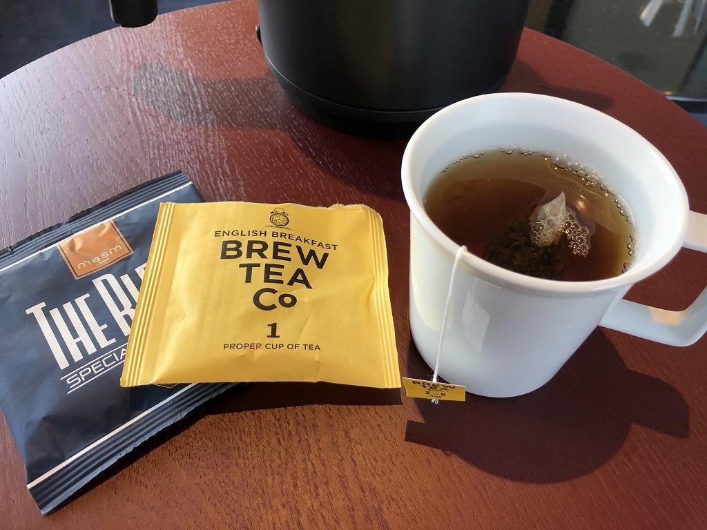 sequence MIYASHITA PARKでメズム東京の紅茶