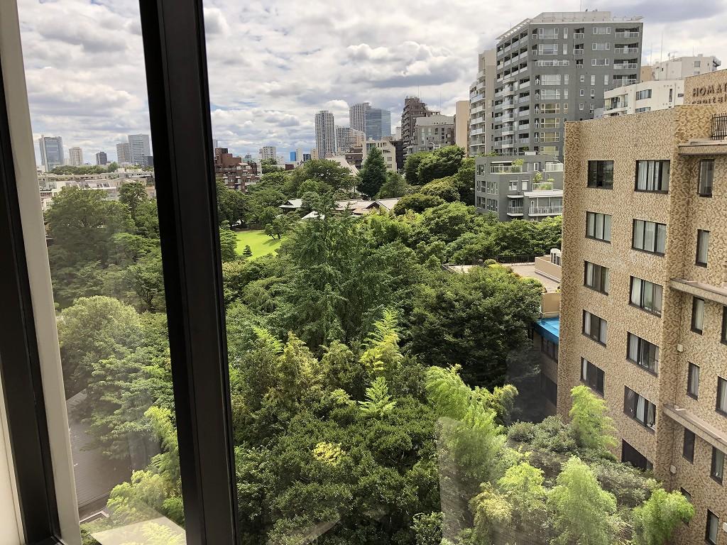 シェラトン都ホテル東京から八芳園