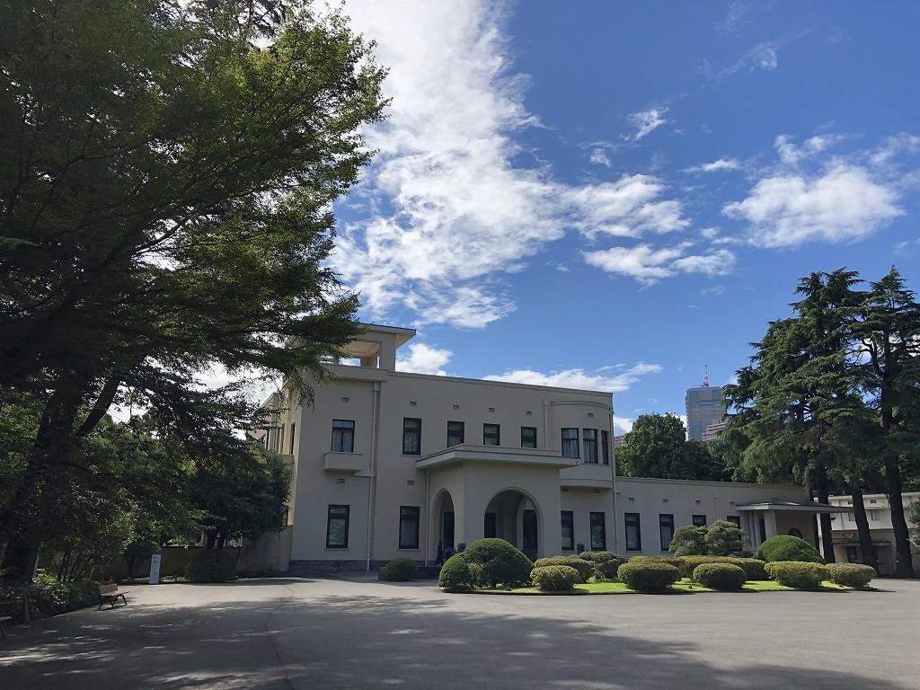 東京都庭園美術館の旧朝香宮邸
