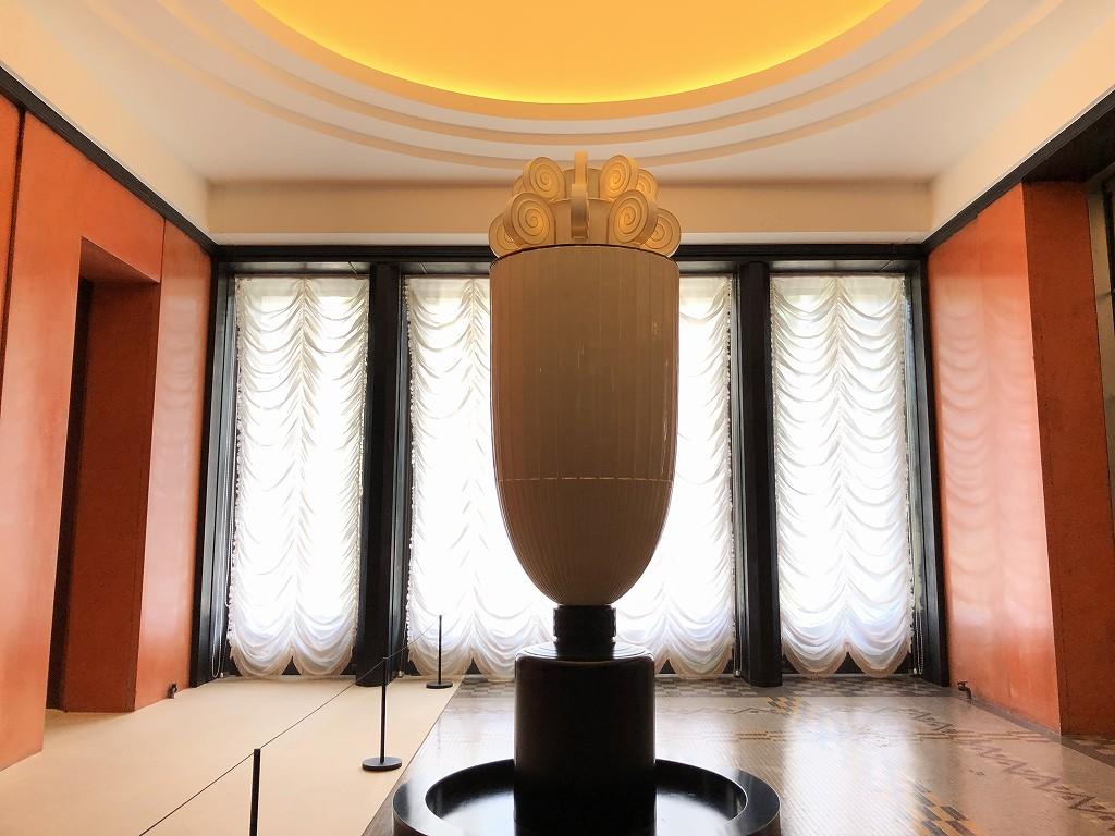 東京都庭園美術館のアンリ・ラパン設計の香水塔