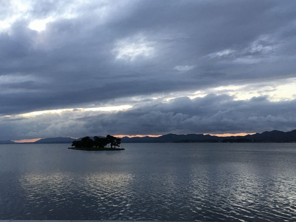 宍道湖の嫁ヶ島