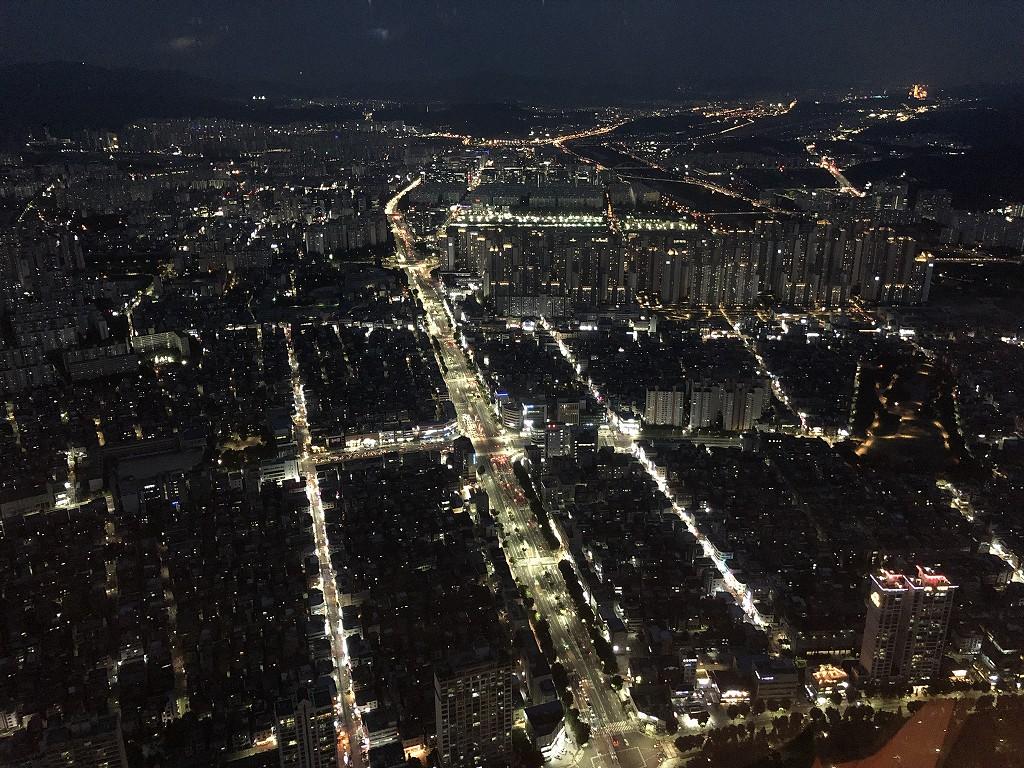 シグニエルソウルからの夜景