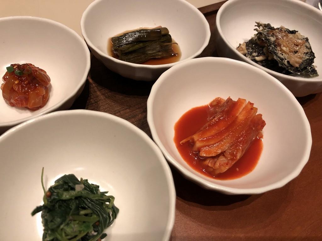 シグニエルソウルのBICENAの韓定食2
