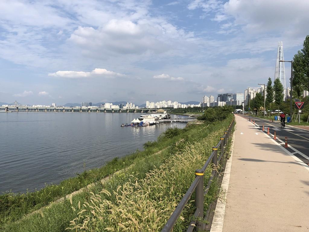 蚕室漢江公園1