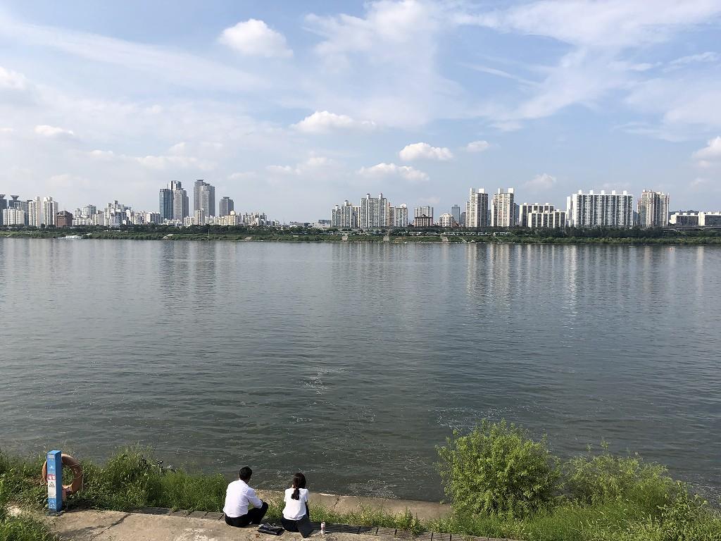 蚕室漢江公園2