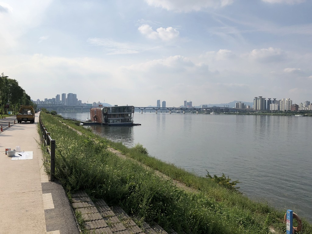 蚕室漢江公園3