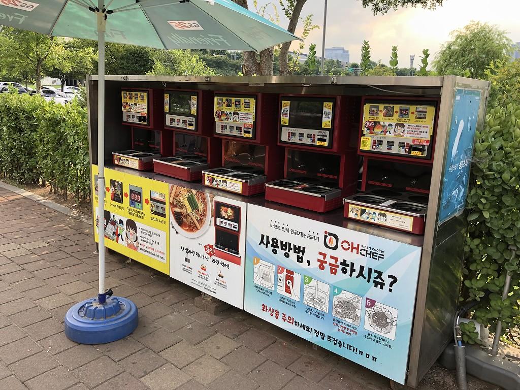 蚕室漢江公園でチメク5