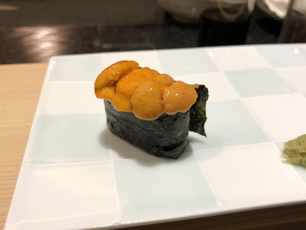 ソウルの「鮨 海信」のウニ2