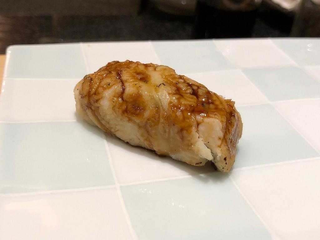 ソウルの「鮨 海信」の穴子