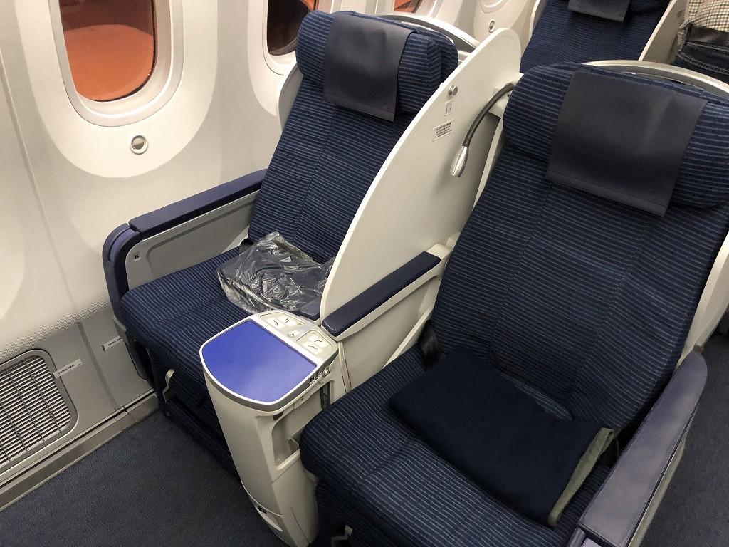 ANA868便のビジネスクラス3K