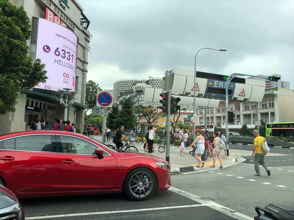 シンガポールの街中