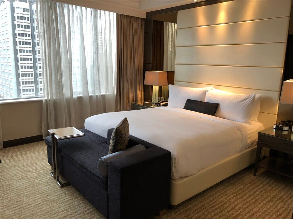 シンガポール マリオット タン プラザ ホテル(ベッド1)