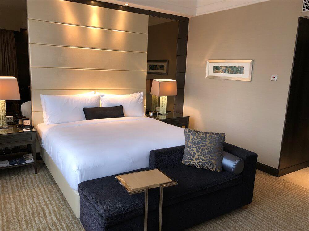 シンガポール マリオット タン プラザ ホテル(ベッド2)