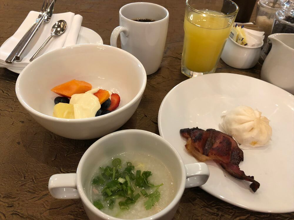 シンガポール マリオット タン プラザ ホテル朝食