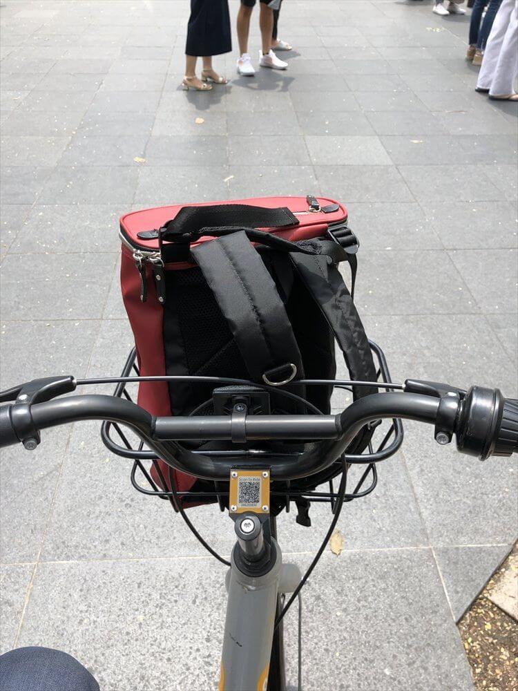シンガポールのOBIKEのバイクシェア2