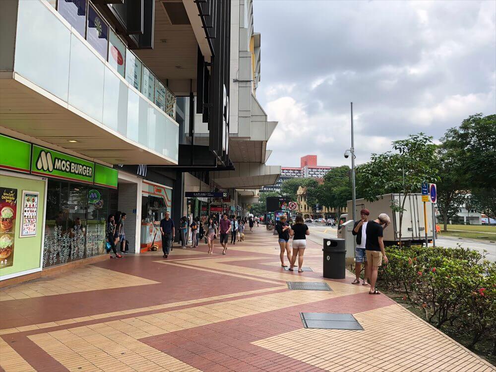 シンガポールの広い通り