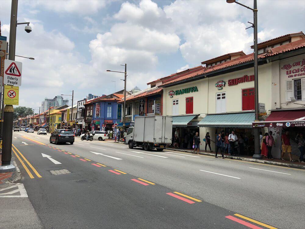 シンガポールのリトルインディアの町並み3