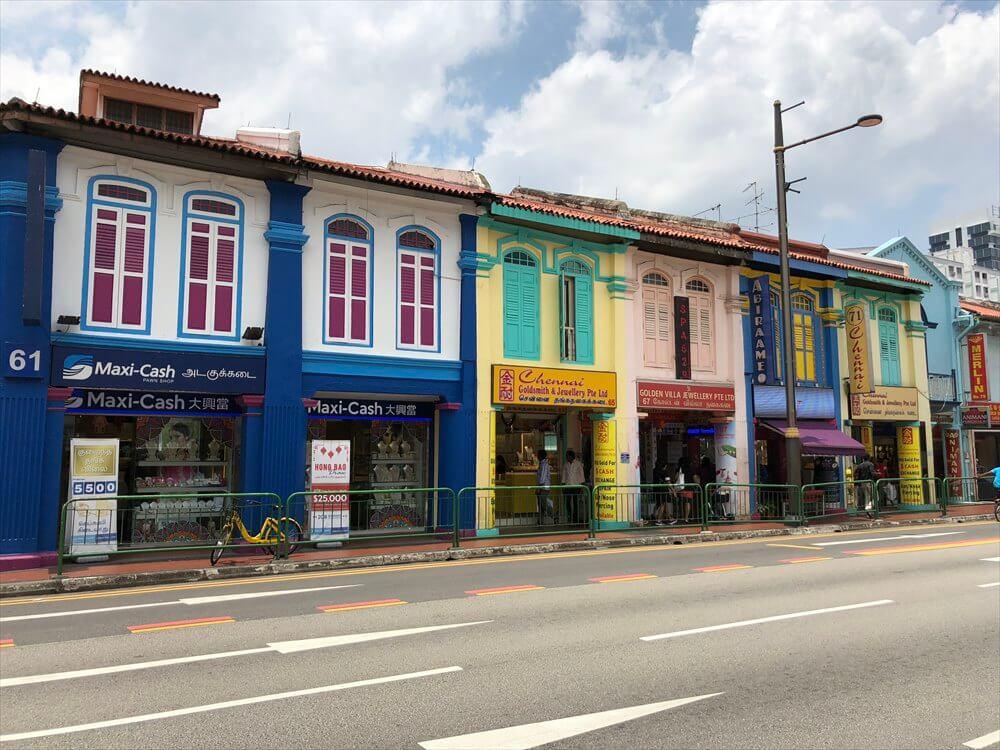 シンガポールのリトルインディアの町並み4