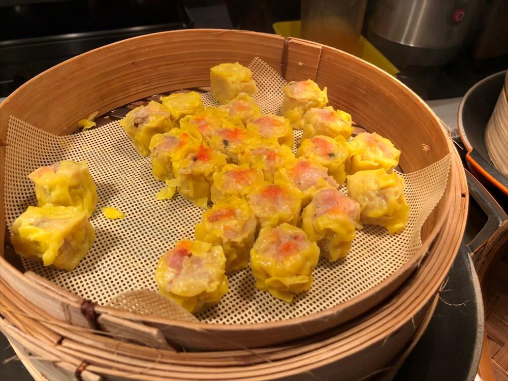 シンガポール マリオット タン プラザ ホテルの朝食会場のハム