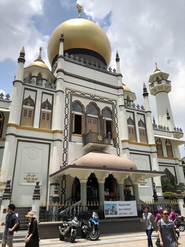 シンガポールのサルタンモスク3