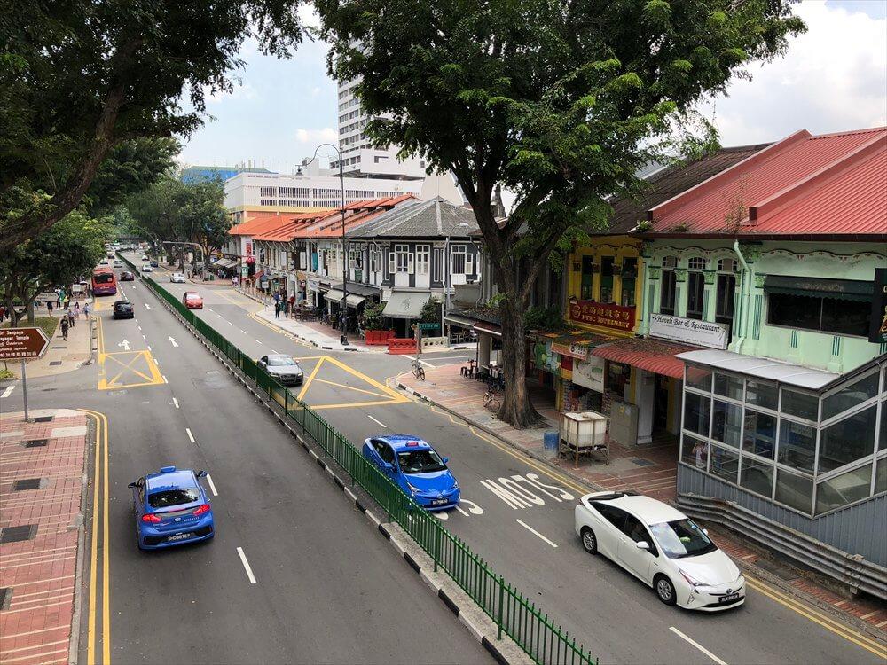 シンガポールのカトン地区の街並み1